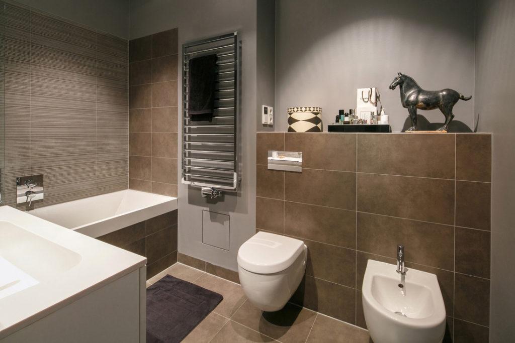 Interieur Fotografie eines hochwertigen Badezimmers