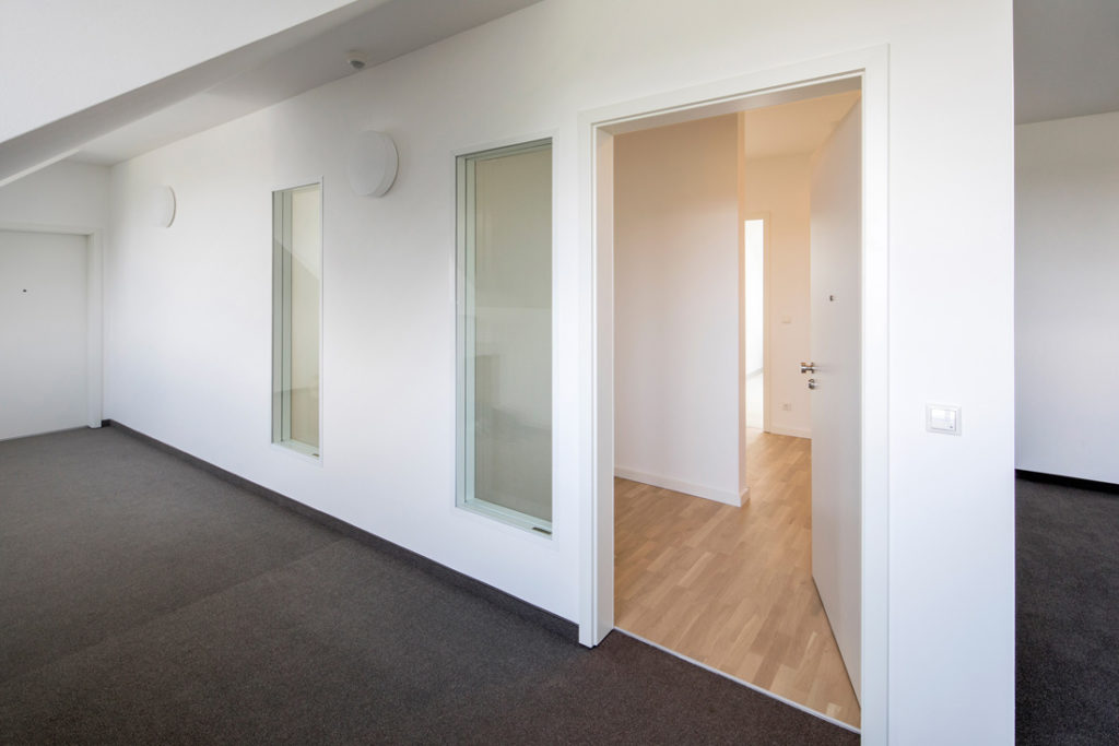Interieur Fotografie eines Flurbereichs in einer Immobilie zum Verkauf