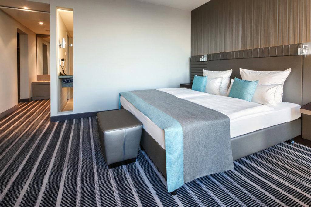 Interiorfotografie Schlafzimmer in einem Hotel in Berlin