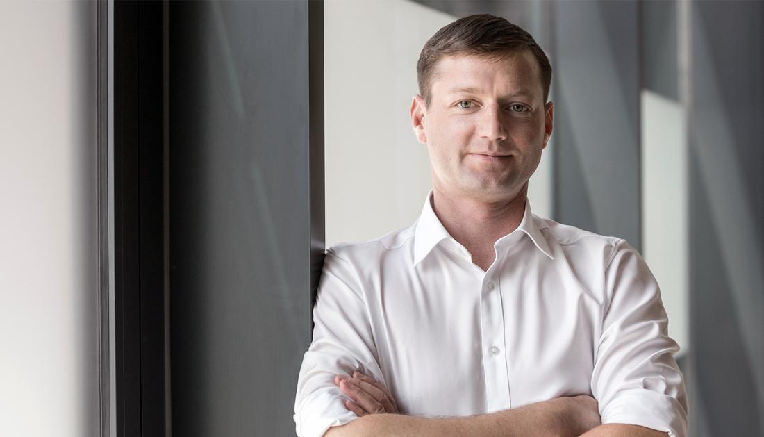 modernes Business Portrait von Berater