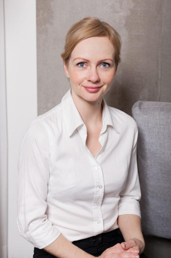Business Portrait von Innenarchitektin in Berlin
