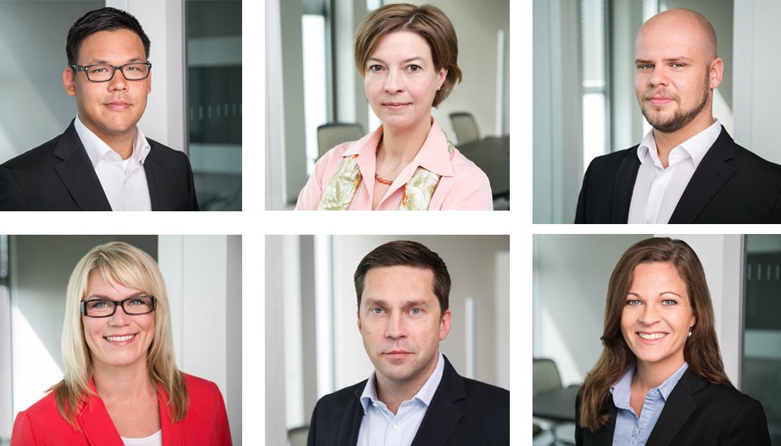 Mitarbeiterfotos in Berliner Büro