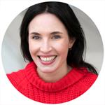 Frau Profilfoto in Farbe